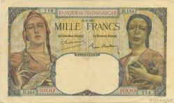 1000 Francs MADAGASCAR  1947 K.817b TTB