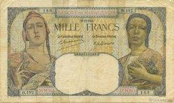 1000 Francs MADAGASCAR  1948 K.818b B+