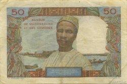 50 Francs MADAGASCAR  1950 K.823b TB