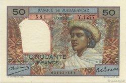 50 Francs MADAGASCAR  1950 K.823b SPL