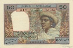 50 Francs MADAGASCAR  1950 P.45a pr.NEUF