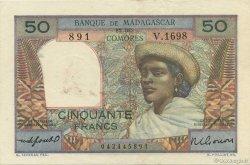 50 Francs MADAGASCAR  1950 K.824b pr.SUP