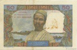 50 Francs MADAGASCAR  1950 P.45b pr.SUP