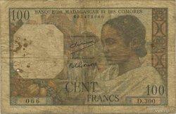 100 Francs MADAGASCAR  1950 K.825b B
