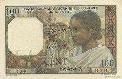 100 Francs MADAGASCAR  1950 P.46a pr.NEUF