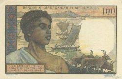 100 Francs MADAGASCAR  1950 K.825b pr.NEUF
