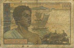 100 Francs MADAGASCAR  1950 K.826b B