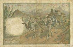 1000 Francs MADAGASCAR  1953 K.830b TB