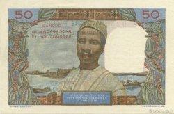 50 Francs - 10 Ariary MADAGASCAR  1961 K.833b pr.SUP