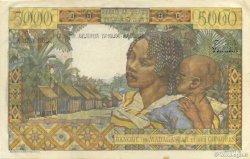 5000 Francs - 1000 Ariary MADAGASCAR  1961 K.842b TTB+