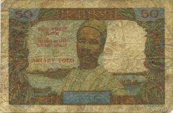 50 Francs - 10 Ariary MADAGASCAR  1962 P.61 B