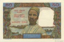 50 Francs - 10 Ariary MADAGASCAR  1962 P.61 pr.NEUF