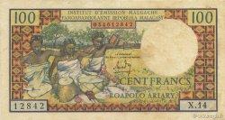 100 Francs - 20 Ariary MADAGASCAR  1964 K.845b TTB