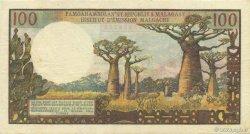 100 Francs - 20 Ariary MADAGASCAR  1964 K.845b pr.SUP
