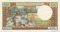 100 Francs - 20 Ariary MADAGASCAR  1964 K.845b SPL