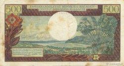 500 Francs - 100 Ariary MADAGASCAR  1964 P.58 TTB