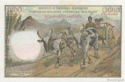 1000 Francs - 200 Ariary MADAGASCAR  1960 P.56as SUP