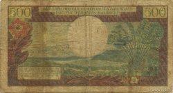 500 Francs - 100 Ariary MADAGASCAR  1964 P.58 B+