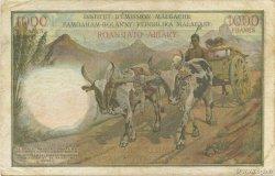 1000 Francs - 200 Ariary MADAGASCAR  1960 P.56b TTB