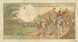 1000 Francs - 200 Ariary MADAGASCAR  1966 K.851b pr.TB