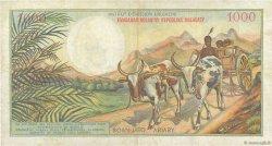 1000 Francs - 200 Ariary MADAGASCAR  1966 P.59a TTB