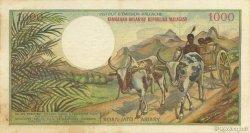 1000 Francs - 200 Ariary MADAGASCAR  1966 K.851b TTB+