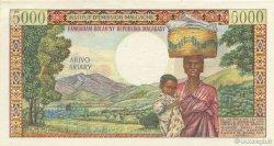 5000 Francs - 1000 Ariary MADAGASCAR  1966 K.852b SPL
