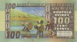 100 Francs - 20 Ariary MADAGASCAR  1974 P.63a SUP