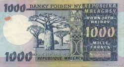 1000 Francs - 200 Ariary MADAGASCAR  1974 P.65a pr.SUP