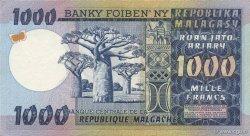 1000 Francs - 200 Ariary MADAGASCAR  1974 P.65a SPL