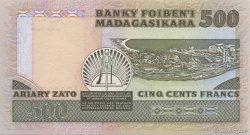 500 Francs - 100 Ariary MADAGASCAR  1983 P.67 pr.NEUF