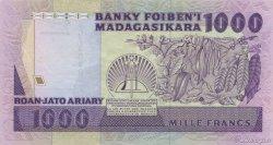 1000 Francs - 200 Ariary MADAGASCAR  1988 P.72a SPL