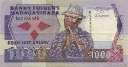 1000 Francs - 200 Ariary MADAGASCAR  1988 P.72b SUP