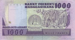 1000 Francs - 200 Ariary MADAGASCAR  1988 P.72b SPL