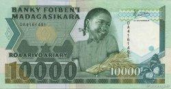 10000 Francs - 2000 Ariary MADAGASCAR  1988 P.74a SPL+
