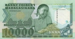 10000 Francs - 2000 Ariary MADAGASCAR  1988 P.74b SPL+