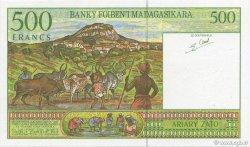 500 Francs - 100 Ariary MADAGASCAR  1994 P.75b NEUF