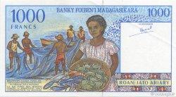 1000 Francs - 200 Ariary MADAGASCAR  1994 P.76a SPL