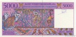 5000 Francs - 1000 Ariary MADAGASCAR  1994 P.78a pr.NEUF