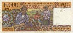 10000 Francs - 2000 Ariary MADAGASCAR  1994 P.79a TTB