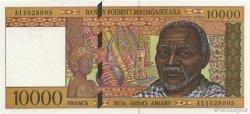 10000 Francs - 2000 Ariary MADAGASCAR  1994 P.79a