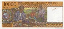 10000 Francs - 2000 Ariary MADAGASCAR  1994 P.79b pr.SUP