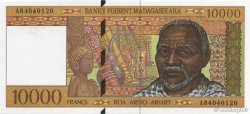 10000 Francs - 2000 Ariary MADAGASCAR  1994 P.79b NEUF