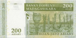 1000 Francs - 200 Ariary MADAGASCAR  2004 P.87a NEUF