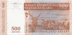 2500 Francs - 500 Ariary MADAGASCAR  2004 P.88a NEUF