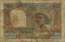 -50 Francs COMORES  1960 P.02b B