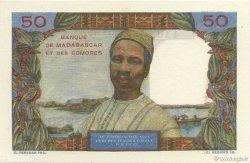50 Francs COMORES  1960 P.02b NEUF