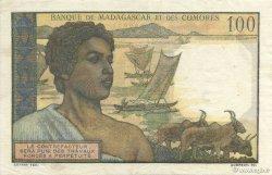 100 Francs COMORES  1960 P.03b pr.SUP