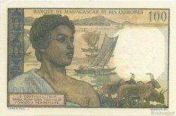100 Francs COMORES  1960 P.03b pr.NEUF
