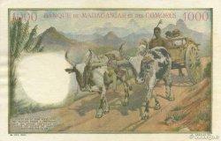 1000 Francs COMORES  1963 P.05b SUP+